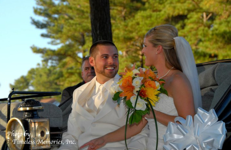 Weddings at Brunswick Plantation Resort.