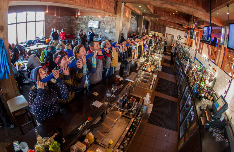Bar at Mountain Creek Resort.