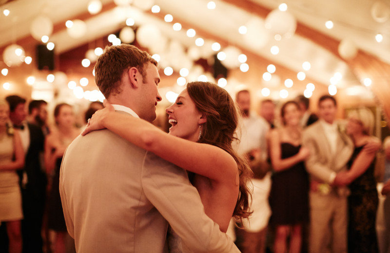 Wedding dance at Fair Hills Resort.