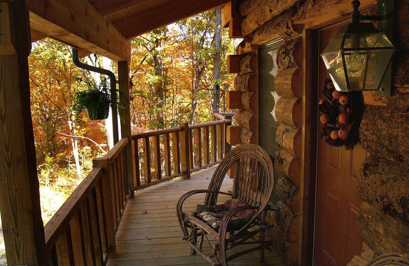 Rental deck at Amazing Branson Rentals