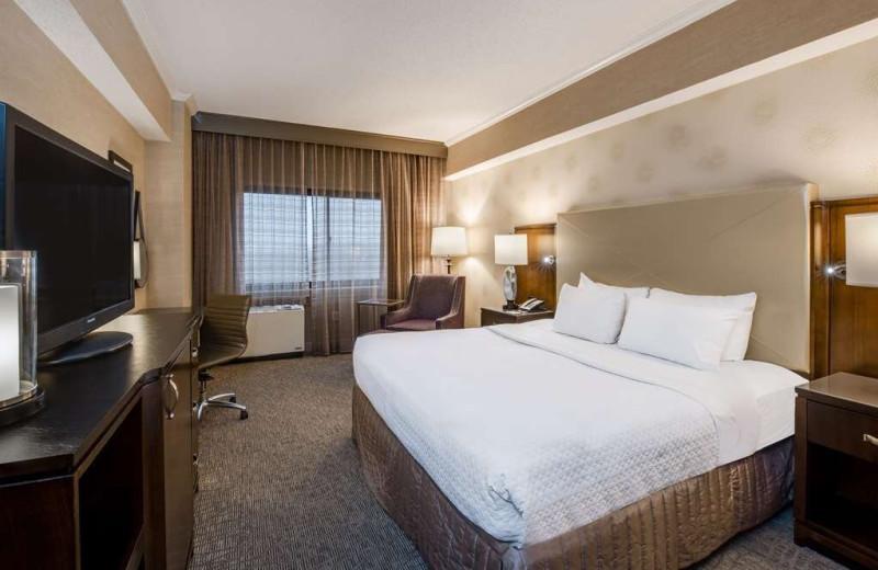 Guest room at Sonesta White Plains.