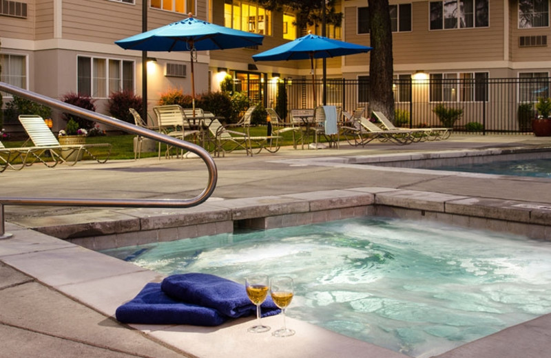 Hot Tub and Swimming Pool at TownePlace Suites Bend