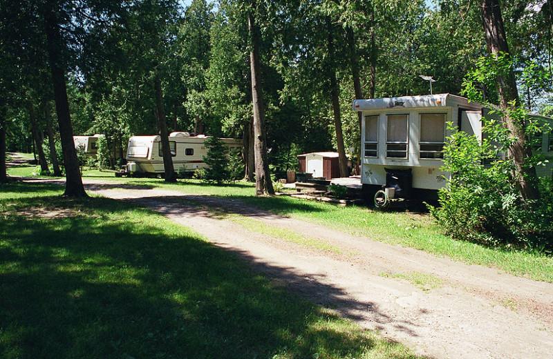 RV campground at Black Rock Resort.