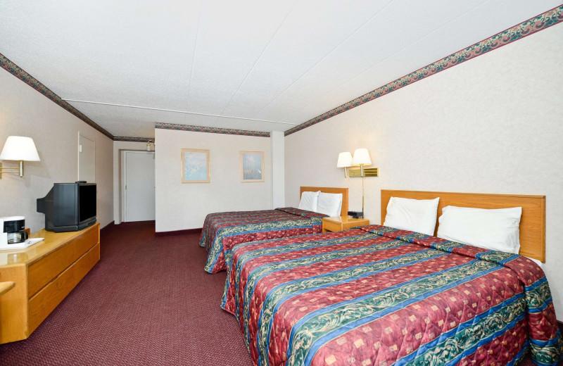 Guest room at America's Best Value Inn - Benton Harbor.