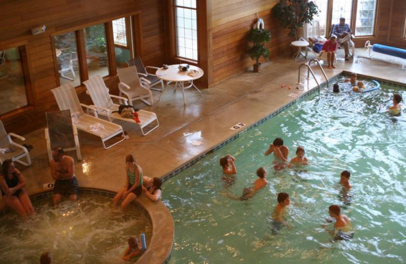 Indoor Pool at Scandinavian Lodge