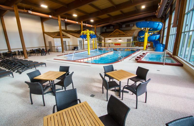 Indoor pool at Elkhorn Manor.