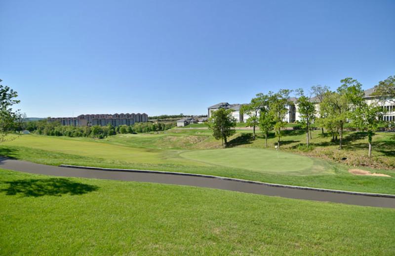 Golf Course at Comfort Inn at Thousand Hills