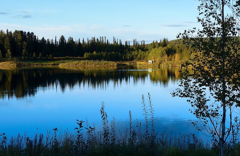 Lake view at Wedgewood Resort.
