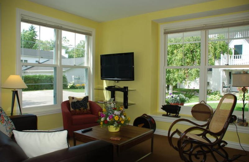 Living Area at Lodgings at Pioneer Lane