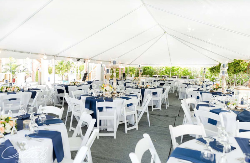 Reception at The Winds Resort Beach Club.
