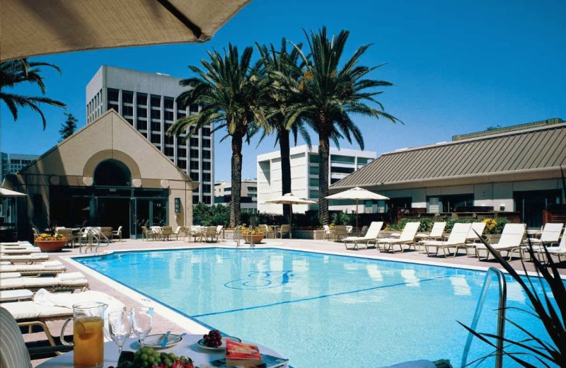 Outdoor pool at The Fairmont San Jose.