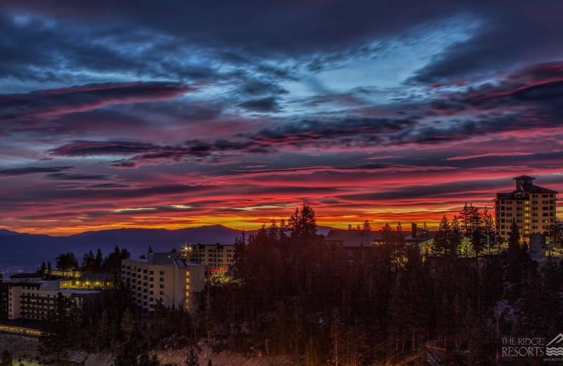 Sunset at The Ridge Resorts.
