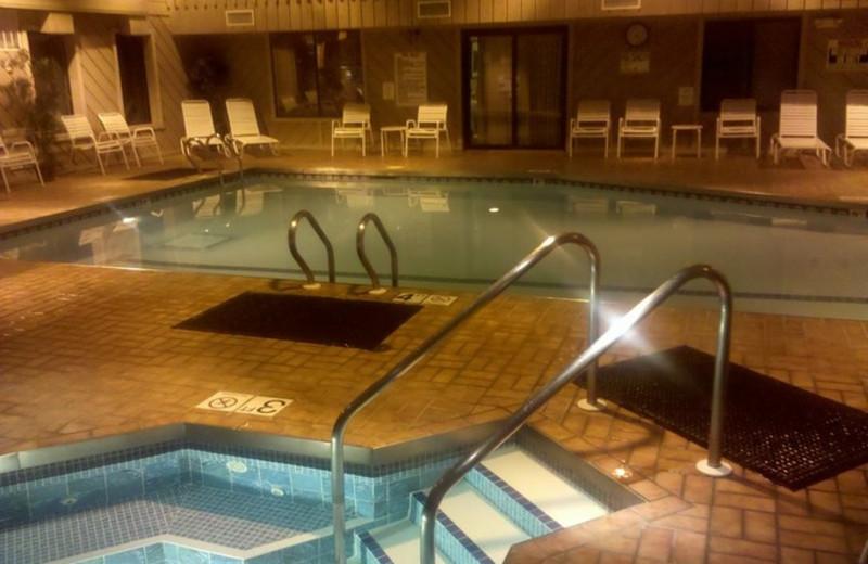 Pool Area at Ramada Wisconsin Dells