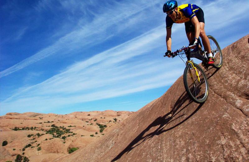 Mountain Biking near Moab Under Canvas