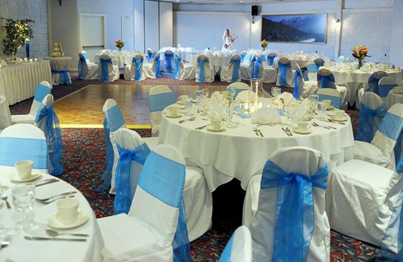 Weddeing reception at Waterville Valley Resort.