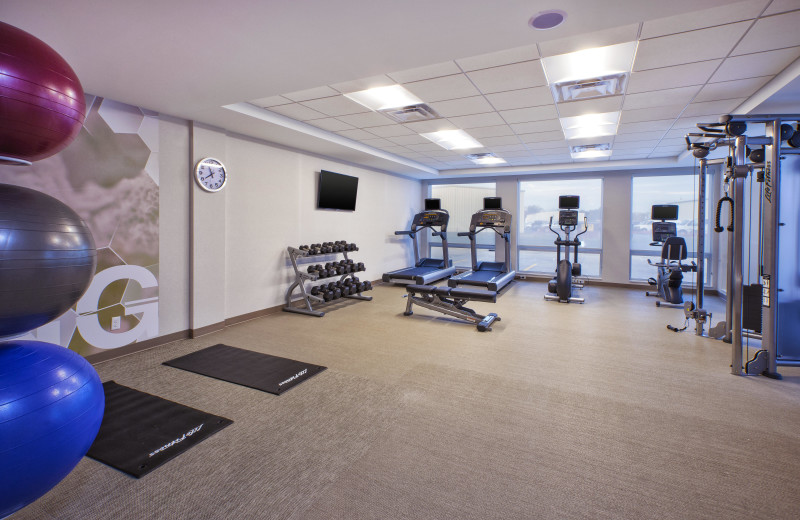 Fitness room at SpringHill Suites - Benton Harbor.