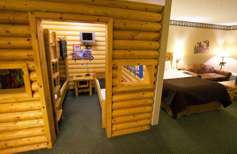 Guest suite at Great Wolf Lodge - Grand Mound.