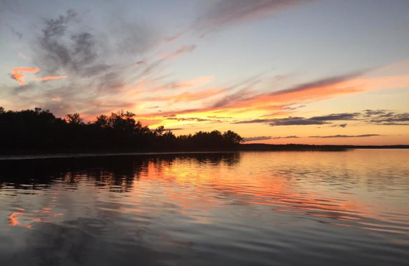 Sunset at Sunset Point Resort.