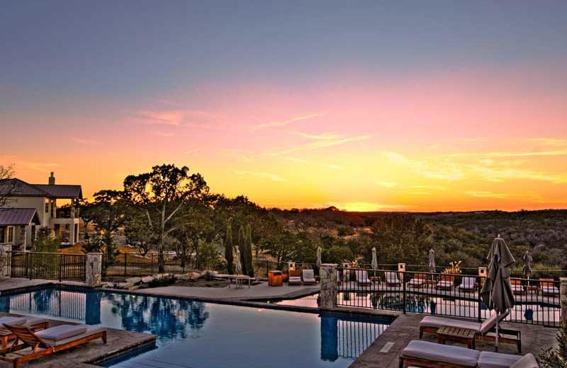 Outdoor pool at Stablewood Springs Resort.