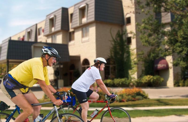Biking at Stone Gate Inn.