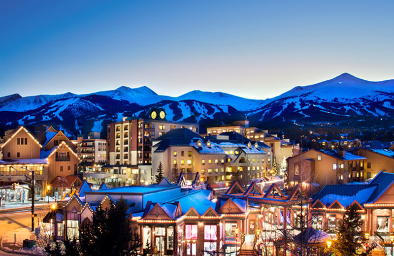 Exterior view of The Village at Breckenridge.