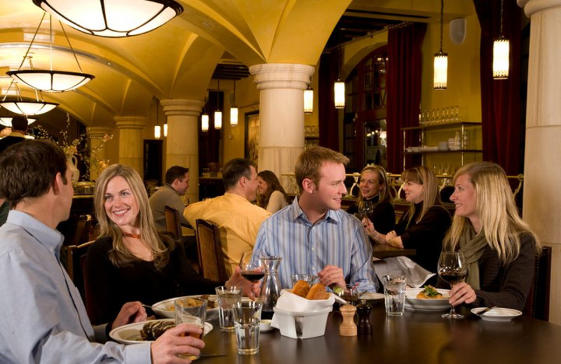 Dining at Arrabelle at Vail Square.