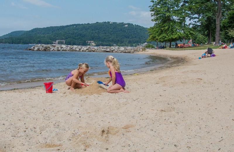 Beach at Railey Vacations.