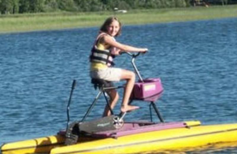 Water Activities at Whippoorwill Resort