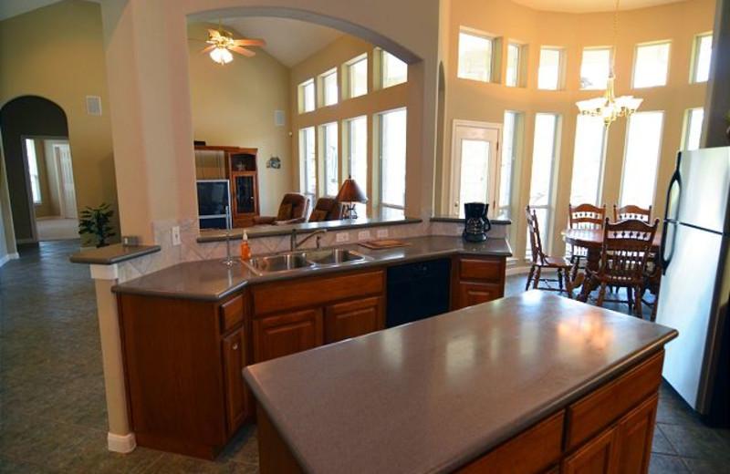 Rental interior at Lake Travis & Co.