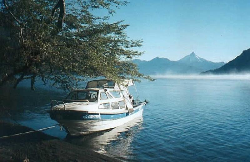 Lake view at Cayutue Lodge.