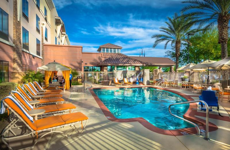 Outdoor pool at Hilton Garden Inn Phoenix North Happy Valley.