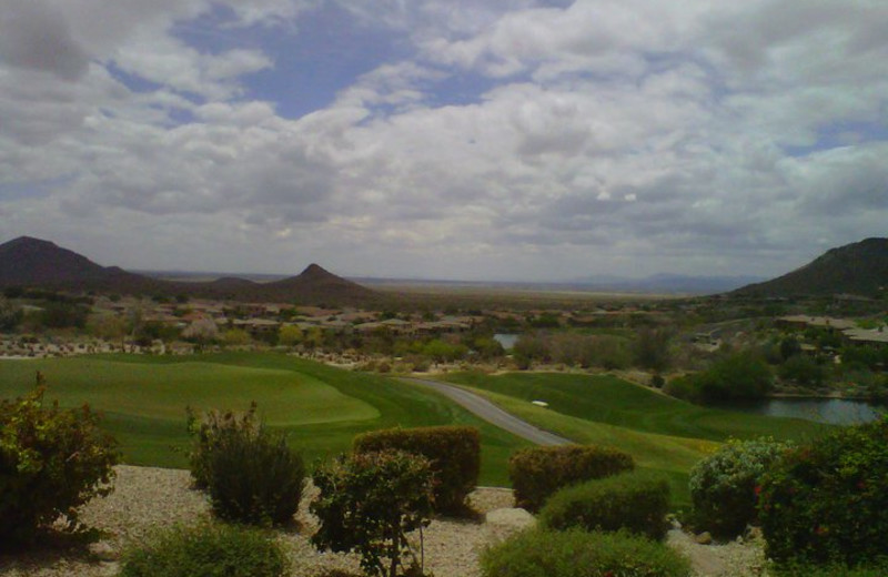 Golf course at Inn at Eagle Mountain.