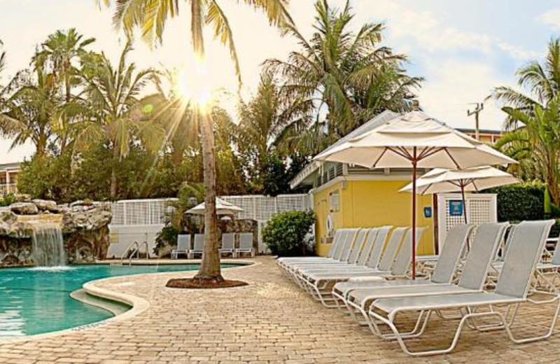Pool area at Sheraton Suites Key West.