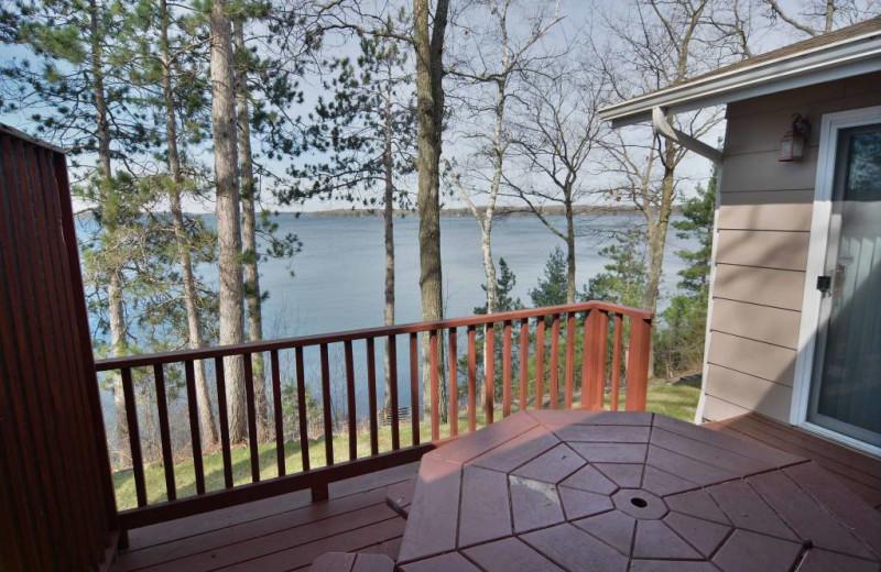 Rental deck at Recreational Rental Properties, Inc.