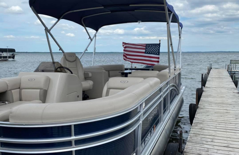 Boating at Bladow Beach Resort & Campground.