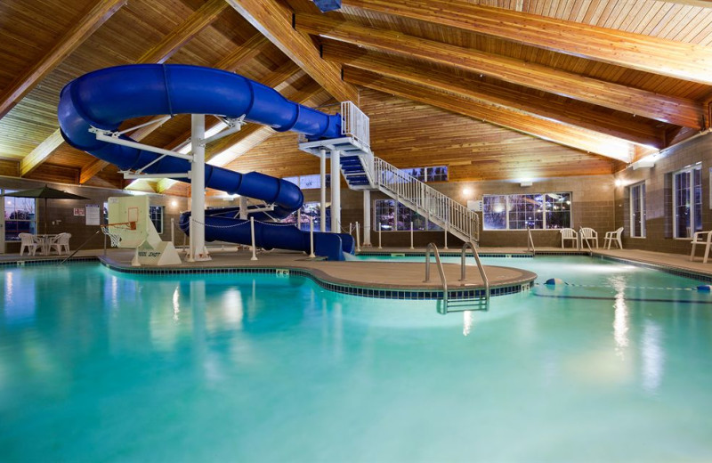 Indoor pool at Country Inn & Suites By Carlson, St Paul NE.