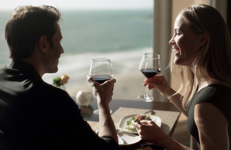 Couple at The Ritz-Carlton, Laguna Niguel.