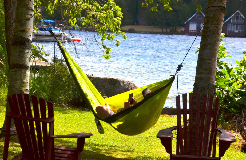 Hammock at Balsam Resort.