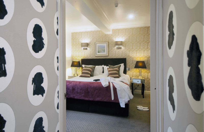 Guest room at Careys Manor.