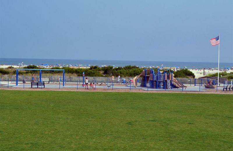 Playground at Diamond Crest Motel.