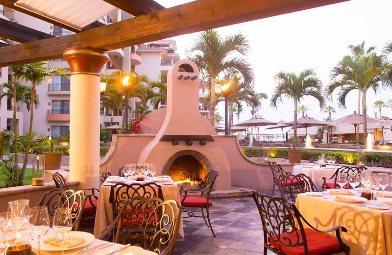 Dining at Villa La Estancia at Cabo La Estancia.