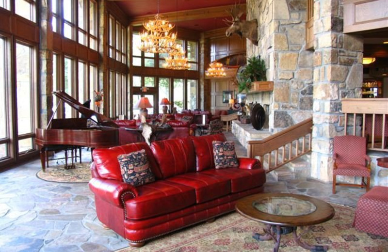 Lodge exterior at The Ridges Resort & Club Lake Chatuge.