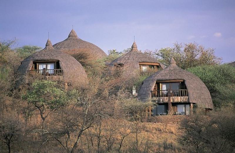 Exterior view of Serengeti Serena Safari Lodge.