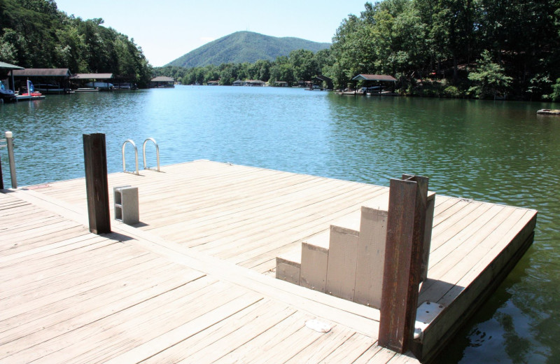 Rental dock at RSI Rentals.