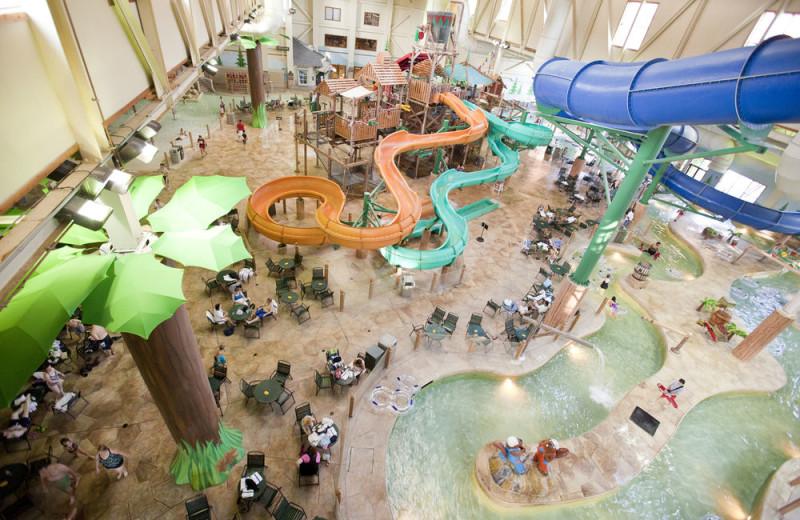 Waterpark at Great Wolf Lodge - Kansas City.