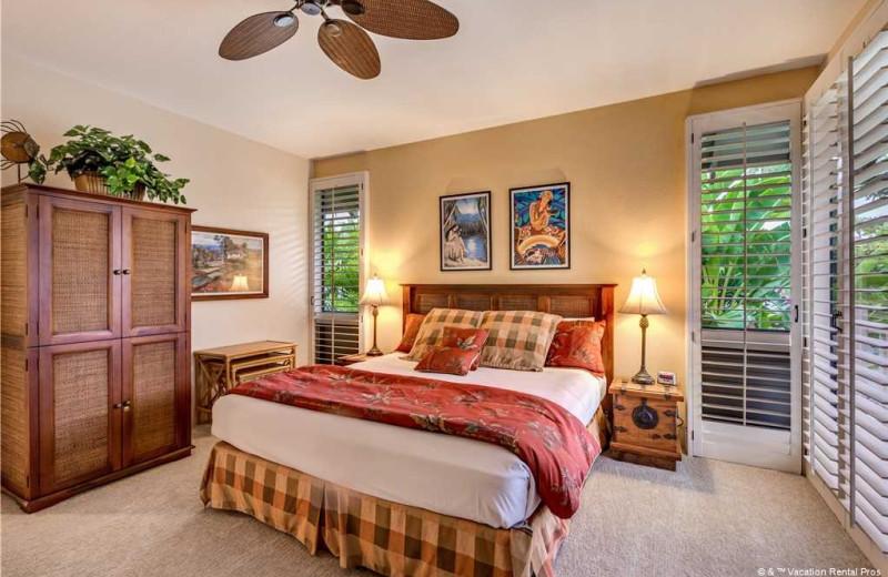 Rental bedroom at Vacation Rental Pros - Maui.