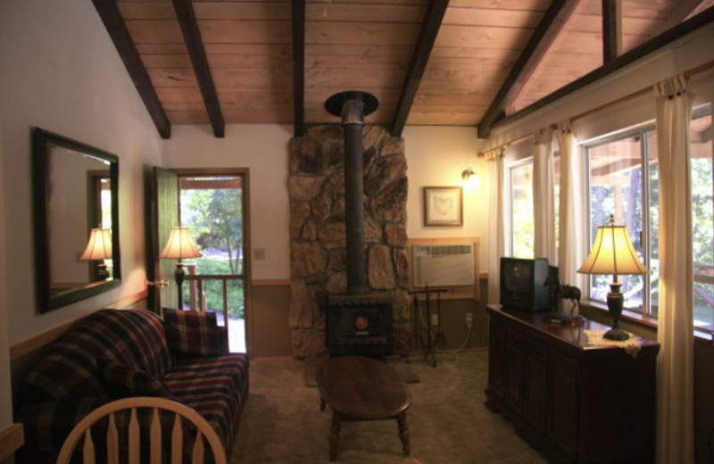 Cabin Interior at Marble Mountain Guest Ranch