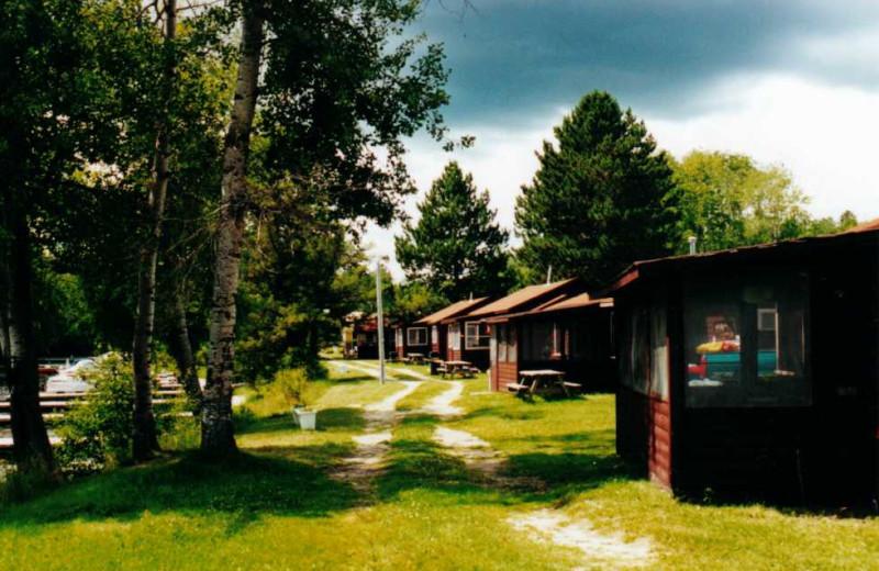 Cabins at Frontier Resort.