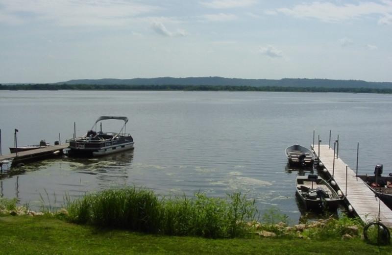 Beautiful Lake View at Cedar Ridge Resort