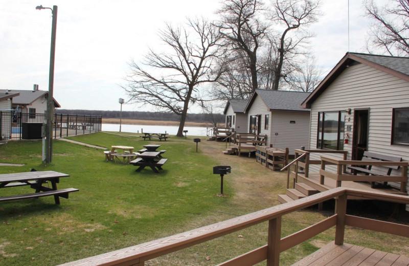 Cabins at Ballard's Resort.